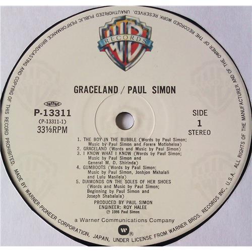Картинка  Виниловые пластинки  Paul Simon – Graceland / P-13311 в  Vinyl Play магазин LP и CD   05733 4