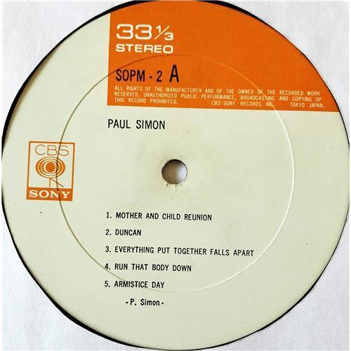 Картинка  Виниловые пластинки  Paul Simon – Paul Simon / SOPM 2 в  Vinyl Play магазин LP и CD   07645 6