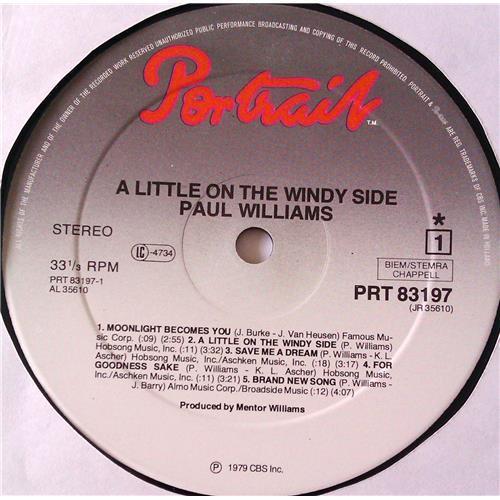 Картинка  Виниловые пластинки  Paul Williams – A Little On The Windy Side / PRT 83197 в  Vinyl Play магазин LP и CD   06225 4