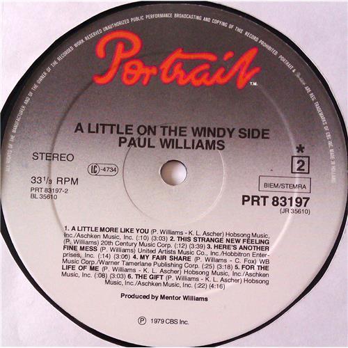 Картинка  Виниловые пластинки  Paul Williams – A Little On The Windy Side / PRT 83197 в  Vinyl Play магазин LP и CD   06225 5