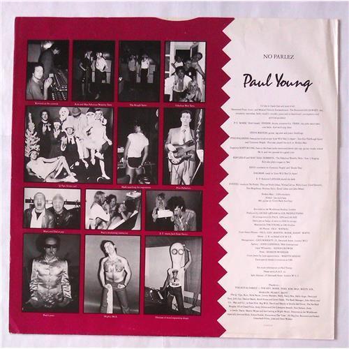 Картинка  Виниловые пластинки  Paul Young – No Parlez / CBS 25521 в  Vinyl Play магазин LP и CD   05917 3