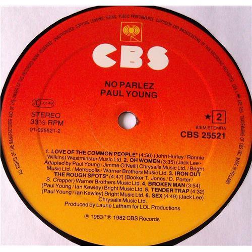 Картинка  Виниловые пластинки  Paul Young – No Parlez / CBS 25521 в  Vinyl Play магазин LP и CD   05917 5