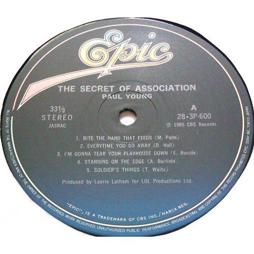 Картинка  Виниловые пластинки  Paul Young – The Secret Of Association / 28-3P-600 в  Vinyl Play магазин LP и CD   05621 5