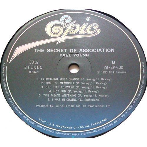 Картинка  Виниловые пластинки  Paul Young – The Secret Of Association / 28-3P-600 в  Vinyl Play магазин LP и CD   05621 6