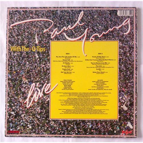 Картинка  Виниловые пластинки  Paul Young With The >>Q-Tips<< – Live / 66.359 в  Vinyl Play магазин LP и CD   06208 1