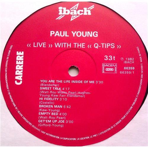 Картинка  Виниловые пластинки  Paul Young With The >>Q-Tips<< – Live / 66.359 в  Vinyl Play магазин LP и CD   06208 2