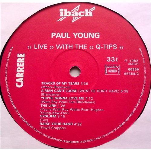 Картинка  Виниловые пластинки  Paul Young With The >>Q-Tips<< – Live / 66.359 в  Vinyl Play магазин LP и CD   06208 3