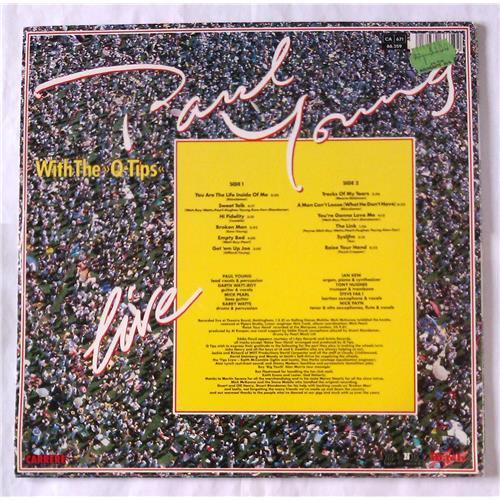 Картинка  Виниловые пластинки  Paul Young With The >>Q-Tips<< – Live / 66.359 в  Vinyl Play магазин LP и CD   06541 1