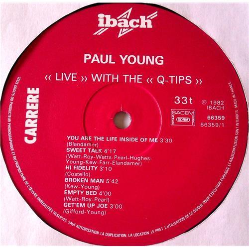 Картинка  Виниловые пластинки  Paul Young With The >>Q-Tips<< – Live / 66.359 в  Vinyl Play магазин LP и CD   06541 2
