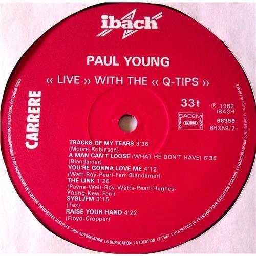 Картинка  Виниловые пластинки  Paul Young With The >>Q-Tips<< – Live / 66.359 в  Vinyl Play магазин LP и CD   06541 3