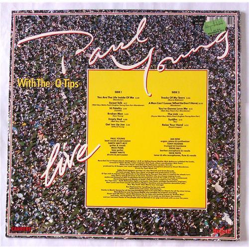 Картинка  Виниловые пластинки  Paul Young With The >>Q-Tips<< – Live / 66.359 в  Vinyl Play магазин LP и CD   06542 1