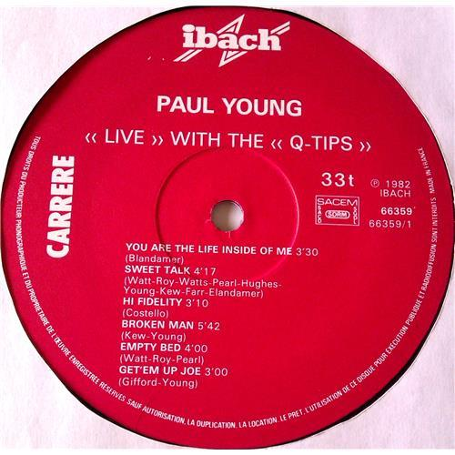 Картинка  Виниловые пластинки  Paul Young With The >>Q-Tips<< – Live / 66.359 в  Vinyl Play магазин LP и CD   06542 2