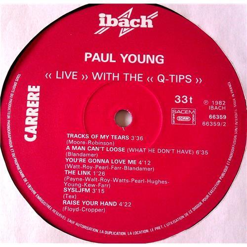 Картинка  Виниловые пластинки  Paul Young With The >>Q-Tips<< – Live / 66.359 в  Vinyl Play магазин LP и CD   06542 3