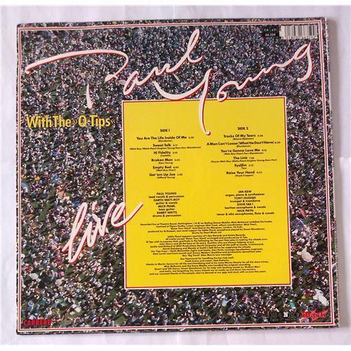 Картинка  Виниловые пластинки  Paul Young With The >>Q-Tips<< – Live / 66.359 в  Vinyl Play магазин LP и CD   06927 1