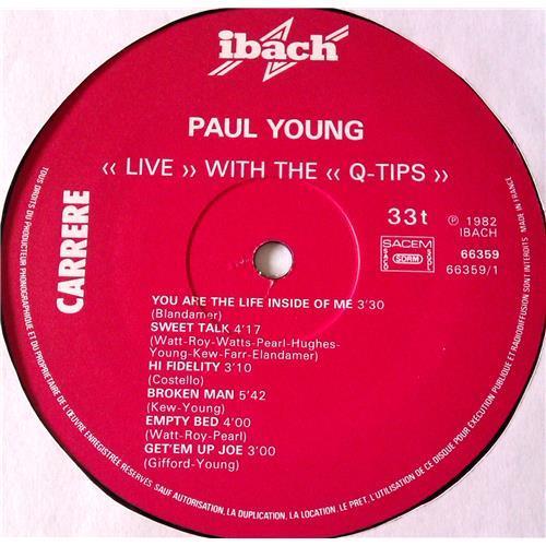 Картинка  Виниловые пластинки  Paul Young With The >>Q-Tips<< – Live / 66.359 в  Vinyl Play магазин LP и CD   06927 2