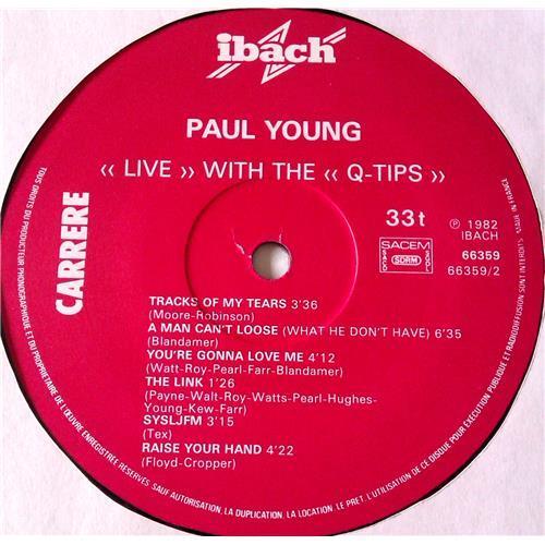 Картинка  Виниловые пластинки  Paul Young With The >>Q-Tips<< – Live / 66.359 в  Vinyl Play магазин LP и CD   06927 3