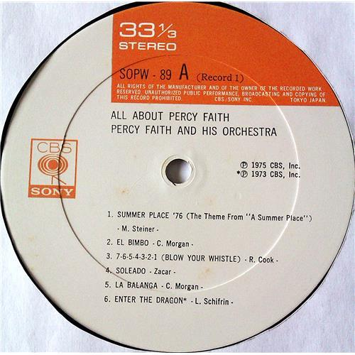 Картинка  Виниловые пластинки  Percy Faith And His Orchestra – All About Percy Faith / SOPW89~90 в  Vinyl Play магазин LP и CD   07385 5