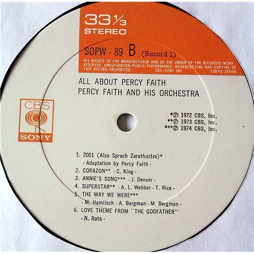 Картинка  Виниловые пластинки  Percy Faith And His Orchestra – All About Percy Faith / SOPW89~90 в  Vinyl Play магазин LP и CD   07385 6