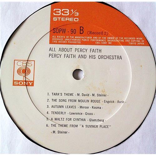 Картинка  Виниловые пластинки  Percy Faith And His Orchestra – All About Percy Faith / SOPW89~90 в  Vinyl Play магазин LP и CD   07385 8
