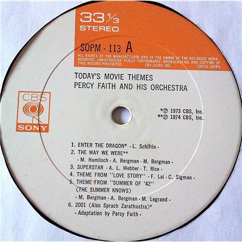 Картинка  Виниловые пластинки  Percy Faith And His Orchestra – Today's Movie Themes / SOPM 113 в  Vinyl Play магазин LP и CD   07411 4
