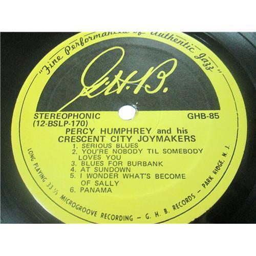 Картинка  Виниловые пластинки  Percy Humphrey And His Crescent City Joymakers – Percy Humphrey And His Crescent City Joymakers / GHB-85 в  Vinyl Play магазин LP и CD   03255 3