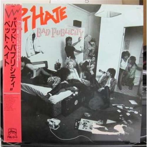 Виниловые пластинки  Pet Hate – Bad Publicity / K25P 575 в Vinyl Play магазин LP и CD  01763