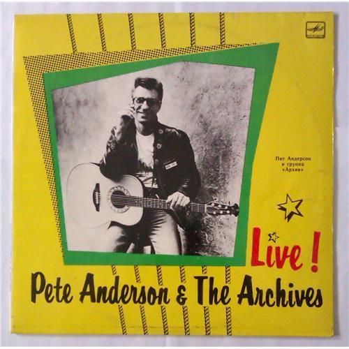 Виниловые пластинки  Pete Anderson & The Archives – Live! / C60 29351 005 в Vinyl Play магазин LP и CD  04561