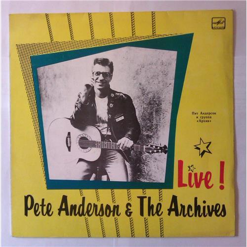 Виниловые пластинки  Pete Anderson & The Archives – Live! / С60 29351 005 в Vinyl Play магазин LP и CD  03950
