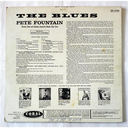 Картинка  Виниловые пластинки  Pete Fountain – The Blues / CRL 57284 в  Vinyl Play магазин LP и CD   07046 1