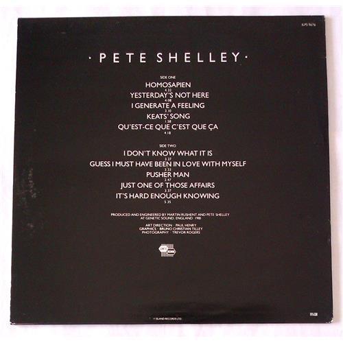 Картинка  Виниловые пластинки  Pete Shelley – Homosapien / ILPS 9676 в  Vinyl Play магазин LP и CD   06508 1
