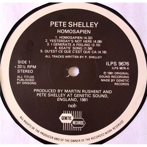 Картинка  Виниловые пластинки  Pete Shelley – Homosapien / ILPS 9676 в  Vinyl Play магазин LP и CD   06508 2