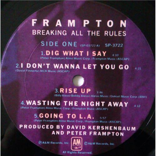 Картинка  Виниловые пластинки  Peter Frampton – Breaking All The Rules / SP-3722 в  Vinyl Play магазин LP и CD   04352 4