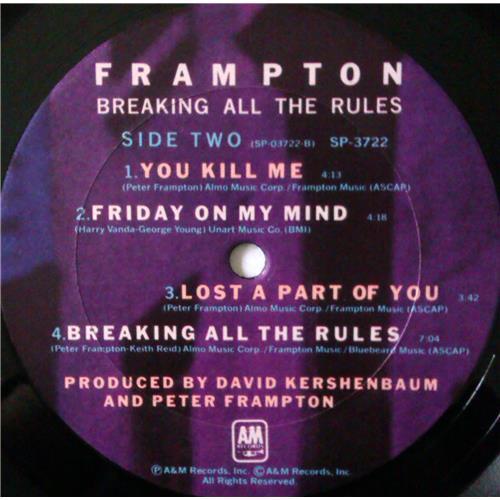 Картинка  Виниловые пластинки  Peter Frampton – Breaking All The Rules / SP-3722 в  Vinyl Play магазин LP и CD   04352 5