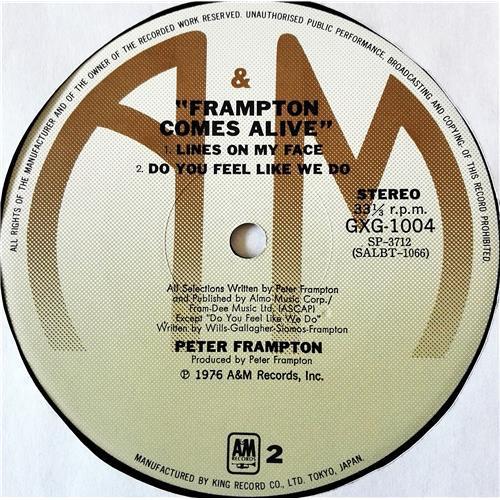 Картинка  Виниловые пластинки  Peter Frampton – Frampton Comes Alive! / GXG 1003/4 в  Vinyl Play магазин LP и CD   07647 9