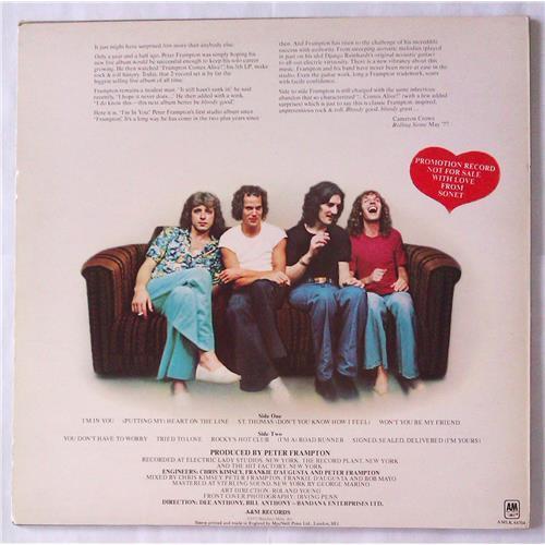 Картинка  Виниловые пластинки  Peter Frampton – I'm In You / AMLK 64704 в  Vinyl Play магазин LP и CD   05005 1