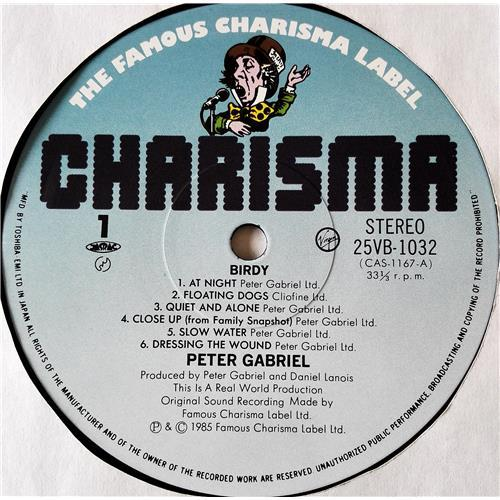 Картинка  Виниловые пластинки  Peter Gabriel – Birdy / 25VB-1032 в  Vinyl Play магазин LP и CD   07544 4