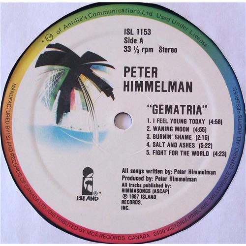 Картинка  Виниловые пластинки  Peter Himmelman – Gematria / ISL 1153 в  Vinyl Play магазин LP и CD   06474 4