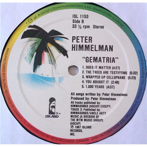 Картинка  Виниловые пластинки  Peter Himmelman – Gematria / ISL 1153 в  Vinyl Play магазин LP и CD   06474 5