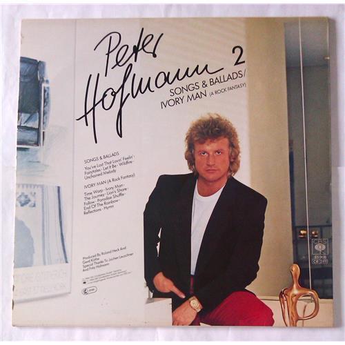 Картинка  Виниловые пластинки  Peter Hofmann – Peter Hofmann 2 - Ivory Man / Songs & Ballads / CBS 25908 в  Vinyl Play магазин LP и CD   06708 1