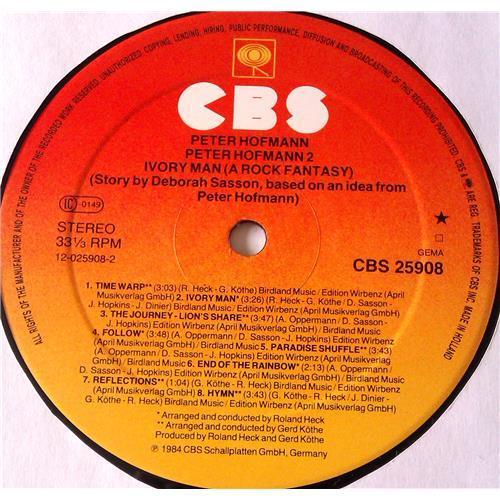 Картинка  Виниловые пластинки  Peter Hofmann – Peter Hofmann 2 - Ivory Man / Songs & Ballads / CBS 25908 в  Vinyl Play магазин LP и CD   06708 7