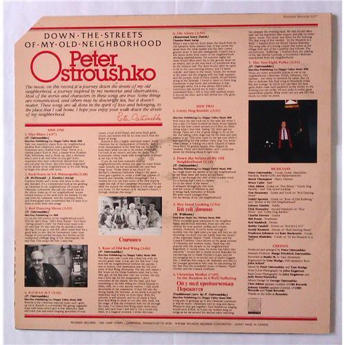 Картинка  Виниловые пластинки  Peter Ostroushko – Down The Streets Of My Old Neighborhood / 0227 в  Vinyl Play магазин LP и CD   04600 1