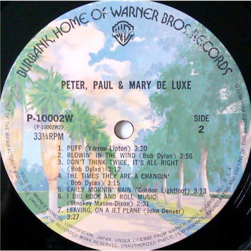 Картинка  Виниловые пластинки  Peter, Paul & Mary – Peter, Paul & Mary De Luxe / P-10002W в  Vinyl Play магазин LP и CD   04407 9