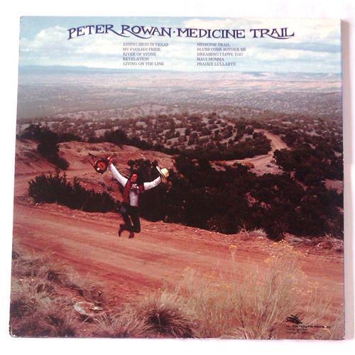 Картинка  Виниловые пластинки  Peter Rowan – Medicine Trail / FF 205 в  Vinyl Play магазин LP и CD   06598 1