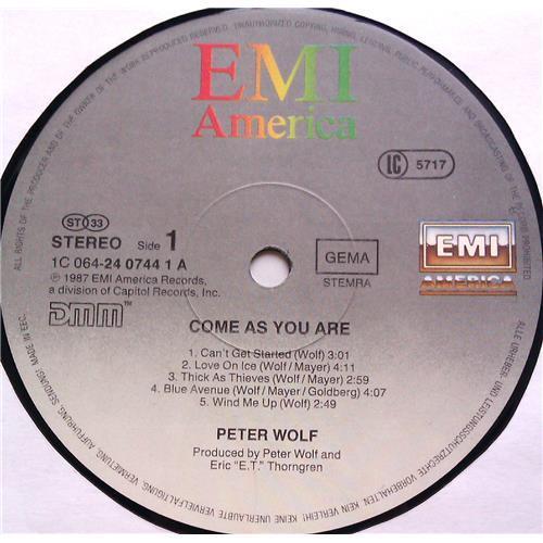 Картинка  Виниловые пластинки  Peter Wolf – Come As You Are / 1C 064-24 0744 1 в  Vinyl Play магазин LP и CD   06050 4