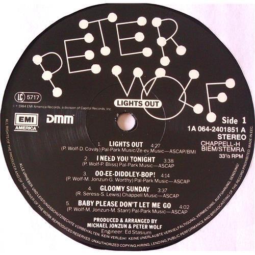 Картинка  Виниловые пластинки  Peter Wolf – Lights Out / 1A 064-24 0185 1 в  Vinyl Play магазин LP и CD   06549 4