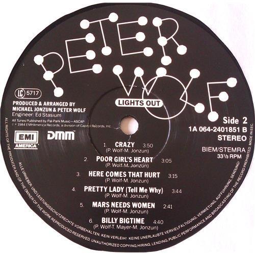 Картинка  Виниловые пластинки  Peter Wolf – Lights Out / 1A 064-24 0185 1 в  Vinyl Play магазин LP и CD   06549 5