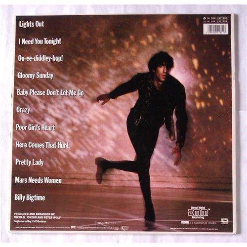 Картинка  Виниловые пластинки  Peter Wolf – Lights Out / 1A 064-24 0185 1 в  Vinyl Play магазин LP и CD   06731 1