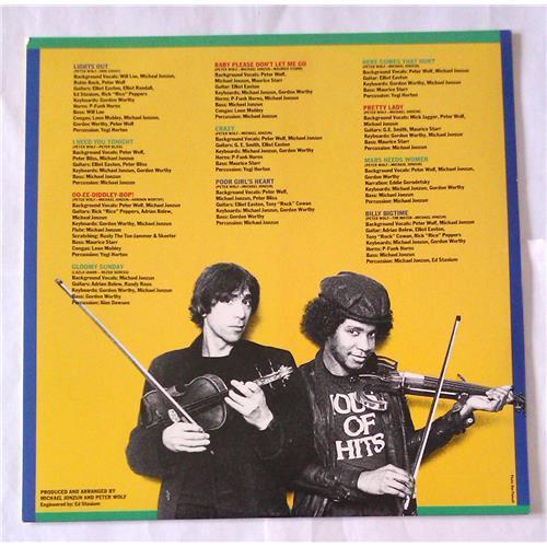 Картинка  Виниловые пластинки  Peter Wolf – Lights Out / SJ-17121 в  Vinyl Play магазин LP и CD   06988 3