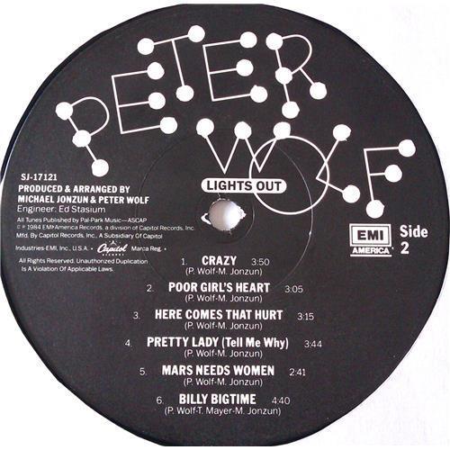 Картинка  Виниловые пластинки  Peter Wolf – Lights Out / SJ-17121 в  Vinyl Play магазин LP и CD   06988 5