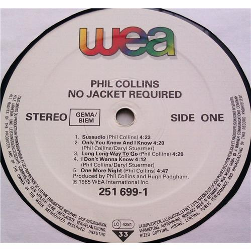 Картинка  Виниловые пластинки  Phil Collins – No Jacket Required / 251 699-1 в  Vinyl Play магазин LP и CD   06212 4